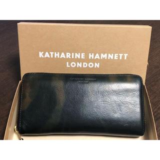 キャサリンハムネット(KATHARINE HAMNETT)の美品 長財布 KATHARINE HAMNETT(長財布)
