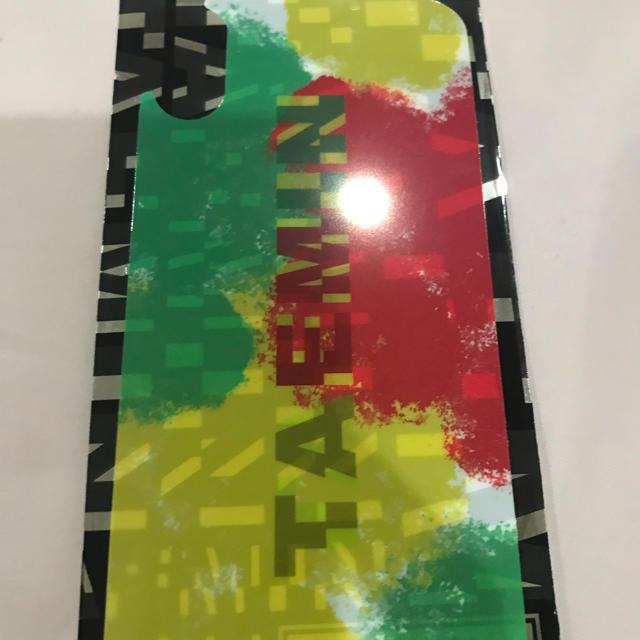 SHINee(シャイニー)のテミン スマホフィルム  エンタメ/ホビーのCD(K-POP/アジア)の商品写真