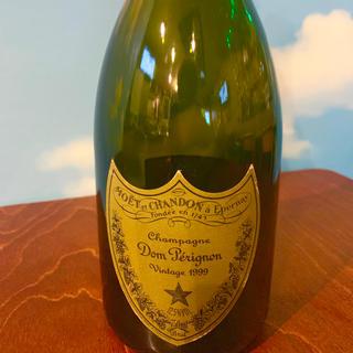 ドンペリニヨン(Dom Pérignon)のドンペリ 空瓶 ビンテージ 1999年(シャンパン/スパークリングワイン)