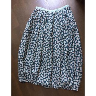 ミナペルホネン(mina perhonen)の専用出品 ミナペルホネン ビスケット スカート  38 (ロングスカート)