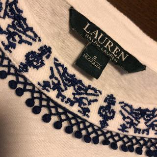 ラルフローレン(Ralph Lauren)のラルフローレン〜刺繍付カットソー(カットソー(半袖/袖なし))