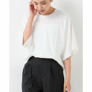 フレームワーク(FRAMeWORK)の未使用品*ペルーコットンビッグスリーブTシャツ(Tシャツ(半袖/袖なし))