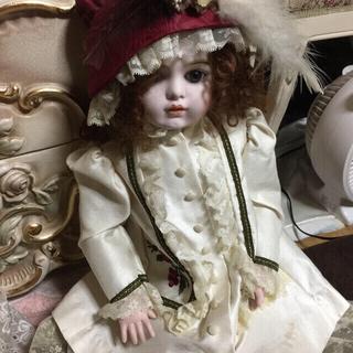 神秘的☆ビスクドール☆可愛い子です。(彫刻/オブジェ)