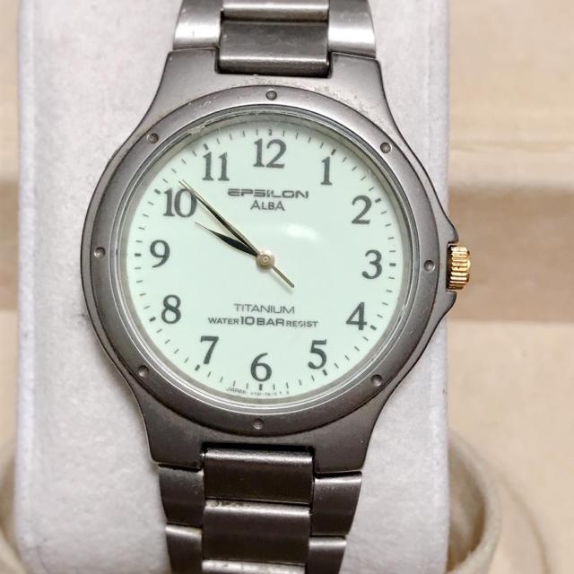 フランクミュラー 時計 赤 - ALBA - ALBA epsilon  腕時計の通販 by 888プロフ必読|アルバならラクマ