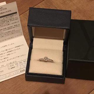 ヴァンドームアオヤマ(Vendome Aoyama)のバンドーム 青山 ダイヤモンド グレースリング プラチナ 0.31カラット(リング(指輪))