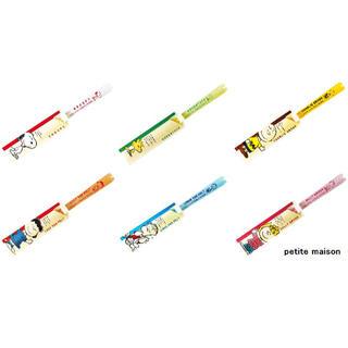 スヌーピー(SNOOPY)のピーナッツクリア箸シリーズ 2本セット スヌーピー(カトラリー/箸)