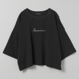 ジーナシス(JEANASIS)のジーナシス シンプルロゴショートT(Tシャツ(半袖/袖なし))