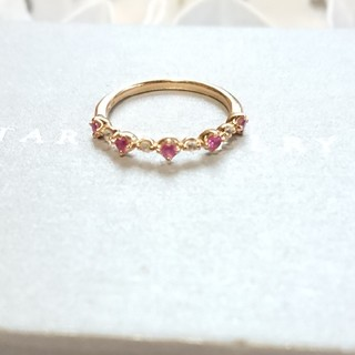 スタージュエリー(STAR JEWELRY)のstar jewelry ピンキーリング ピンクサファイア(リング(指輪))