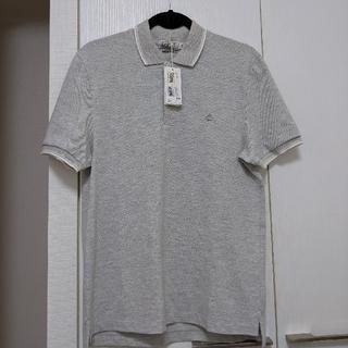 プチバトー(PETIT BATEAU)のプチバトー メンズポロシャツ Mサイズ(ポロシャツ)