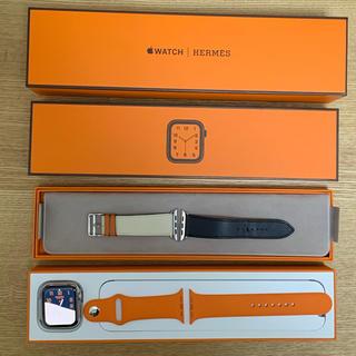 アップルウォッチ(Apple Watch)のApple Watch Hermès 44mm(腕時計(デジタル))