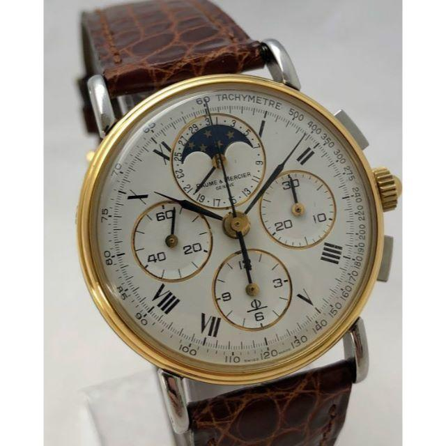Baume & Mercier Chronograph Moonphaseの通販 by zephyrx912's shop|ラクマ