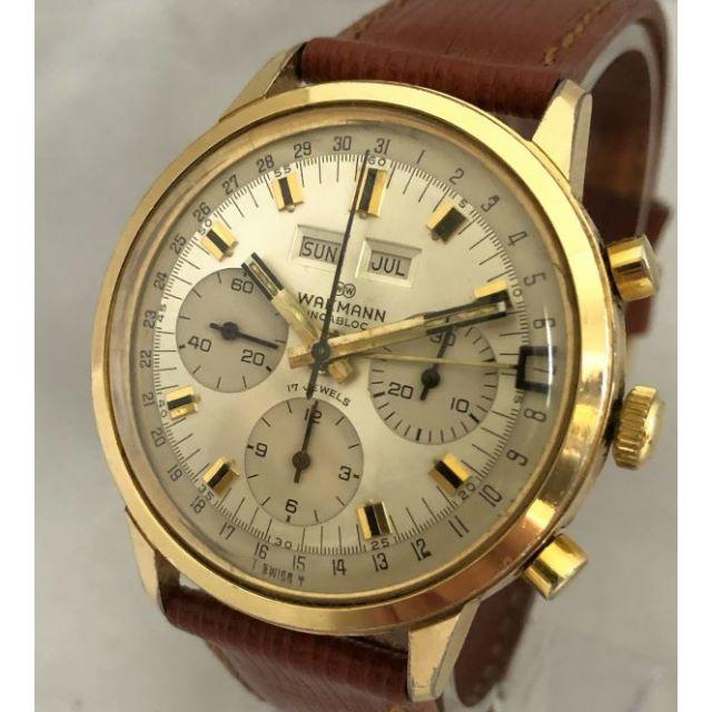 Wakmann Chronograph Valjoux 730 72C ワックマの通販 by zephyrx912's shop|ラクマ