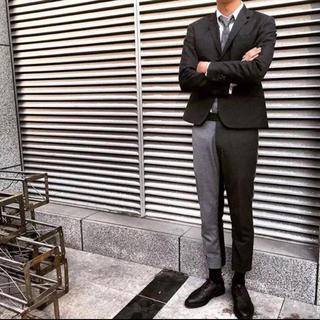 アメリヴィンテージ(Ameri VINTAGE)の色切り替え スーツパンツ 2号 男女兼用(スーツ)