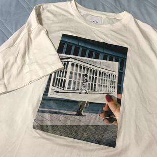 アメリヴィンテージ(Ameri VINTAGE)のameri vintage NYフォトプリントTシャツ(Tシャツ(半袖/袖なし))