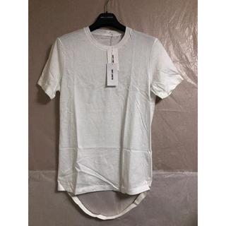ヘルムートラング(HELMUT LANG)の早い者勝ち!! HELMUT LANG カットオフTシャツ ホワイト(Tシャツ/カットソー(半袖/袖なし))