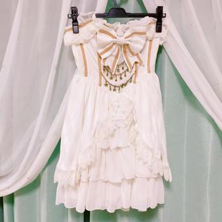 アンジェリックプリティー(Angelic Pretty)のMagical Holic コルセットJSK ホワイト(ミニワンピース)