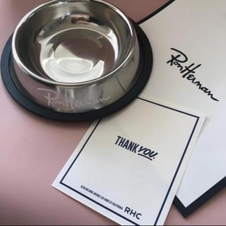 ロンハーマン(Ron Herman)の新品☆完売  ロンハーマン フードボール 犬皿 ホワイト(その他)