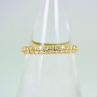 K18 ダイヤモンド ピンキーリング 4号[f41-21] (リング(指輪))