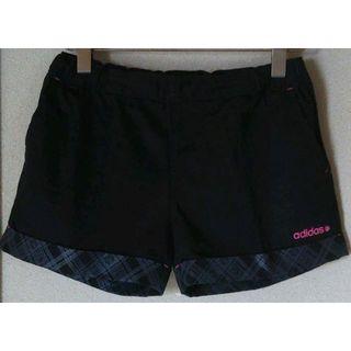 アディダス(adidas)の美品 アディダス ネオ ショートパンツ / ハーフパンツ ブラック M(ウェア)