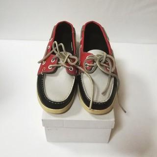 リーガル(REGAL)のREGAL デッキシューズ  22cm(ローファー/革靴)