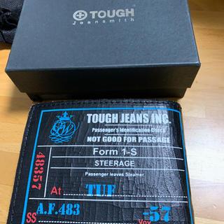 TOUGH - TOUGH 二つ折り財布