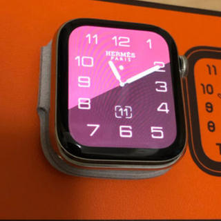 アップルウォッチ(Apple Watch)のゆき様専用アップルウォッチ4 エルメス 本体(腕時計(デジタル))