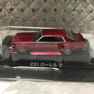 アオシマ(AOSHIMA)のアオシマ ミニカー グラチャンコレクション ベスト2 ローレル ② レッド(ミニカー)