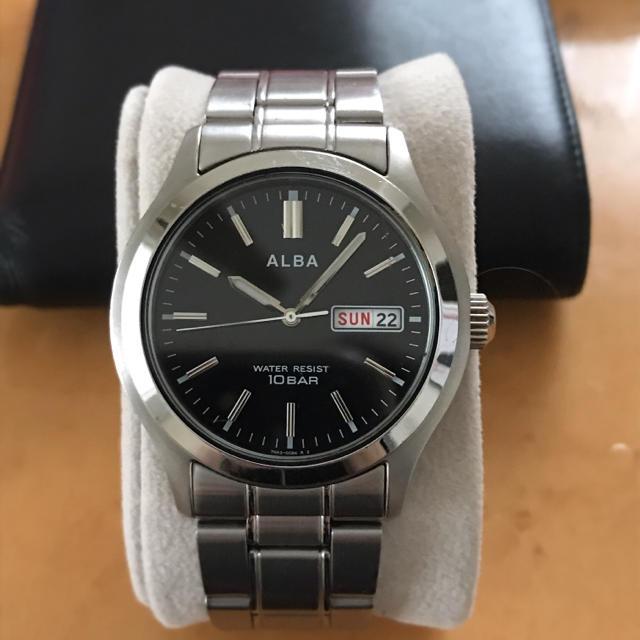 オメガ 時計 5万 、 ALBA - ALBA 腕時計の通販 by 888プロフ必読|アルバならラクマ