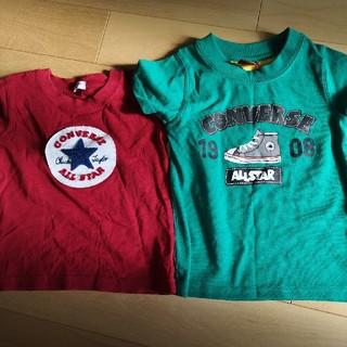 コンバース(CONVERSE)のコンバース Tシャツ 100 二枚セット(Tシャツ/カットソー)