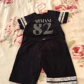 アルマーニ(Armani)のアルマーニベビー tシャツ&パンツ セットアップ  ☆値下げしました☆(Tシャツ)