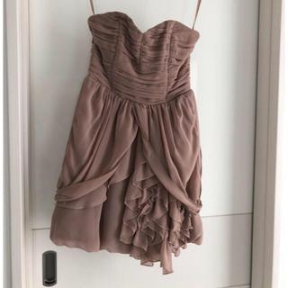 エイチアンドエム(H&M)のワンピ ドレス(ひざ丈ワンピース)