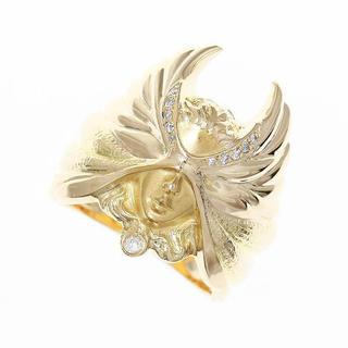 カレライカレラ ダイヤモンド リング 指輪 k18yg 750 イエローゴールド(リング(指輪))