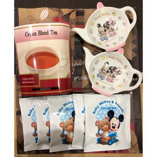 ディズニー(Disney)のディズニー 紅茶ギフト セイロンブレンド 皿(茶)