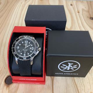 アライブアスレティックス(Alive Athletics)の◆新品未使用◆ALIVE腕時計 DIVER DOWN silver(腕時計(アナログ))
