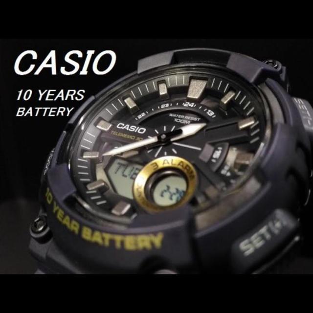 CASIO - [電池寿命10年]casio カシオ 逆輸入モデル スポーツ 腕時計 の通販 by 龍's shop|カシオならラクマ