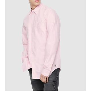 ディーゼル(DIESEL)のDIESEL 長袖シャツ ピンク メンズ カジュアル シャツ(シャツ)
