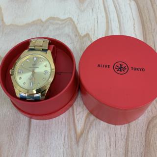 アライブアスレティックス(Alive Athletics)の◆新品未使用◆ALIVE腕時計 ANSWER all gold(腕時計(アナログ))
