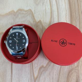 アライブアスレティックス(Alive Athletics)の◆新品未使用◆ALIVE腕時計 ANSWER silver/black(腕時計(アナログ))