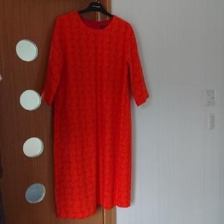 マリメッコ(marimekko)のマリメッコ ワンピース ドレス(ひざ丈ワンピース)