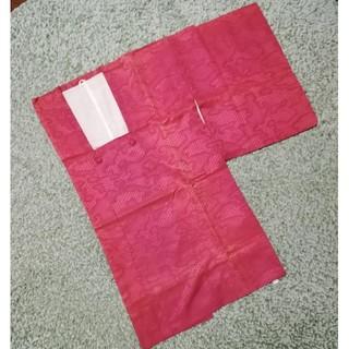 フリフ(ふりふ)のローズピンクの道行コート 化繊 レインコート 雨コート 着物(着物)