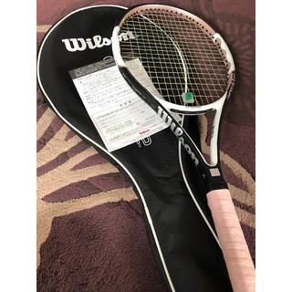 ウィルソン(wilson)の【美品】硬式テニス ラケット ウィルソン ピンク ケース付き(ラケット)