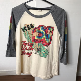 ダブルネーム(DOUBLE NAME)のプリントロゴT(Tシャツ(長袖/七分))