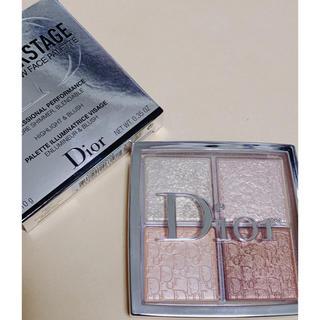 ディオール(Dior)のディオール バックステージ フェイスグロウパレット 002(フェイスカラー)