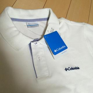 コロンビア(Columbia)の【Columbia】新品タグ付きポロシャツ(ポロシャツ)