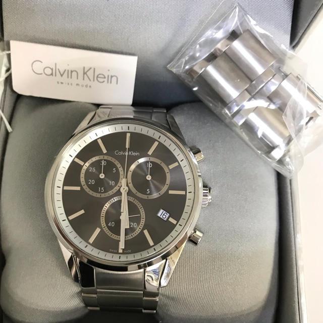 Calvin Klein - 腕時計 メンズ クロノグラフ  カルバン・クラインの通販 by そだねshop|カルバンクラインならラクマ