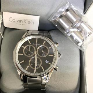 カルバンクライン(Calvin Klein)の腕時計 メンズ クロノグラフ  カルバン・クライン(腕時計(アナログ))