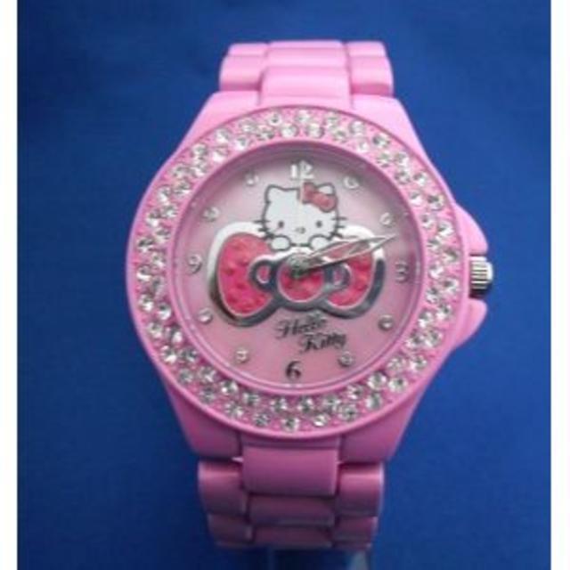 サンリオ - キティーちゃんメタルウォッチPKハローキティー腕時計の通販 by ROCK6229's shop|サンリオならラクマ