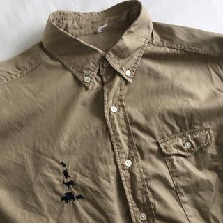 マウンテンリサーチ(MOUNTAIN RESEARCH)のマウンテンリサーチ BDシャツ ベージュ(シャツ)