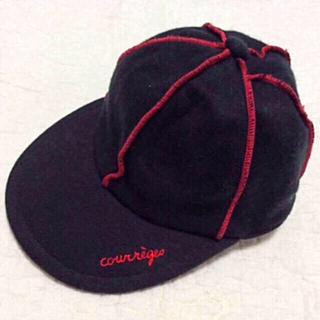 クレージュ(Courreges)の日本製 クレージュ キッズ キャップ(帽子)
