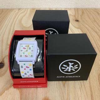アライブアスレティックス(Alive Athletics)の◆新品未使用◆ALIVE腕時計 EASY white monogram(腕時計(アナログ))